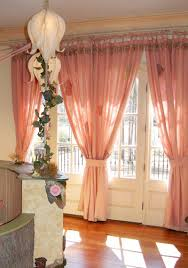 Peach Bedroom Decorating Bedroom Beautiful Window Valance And Curtain With Pink Peach Theme