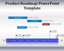 Road Map Powerpoint Product Roadmap Powerpoint Template