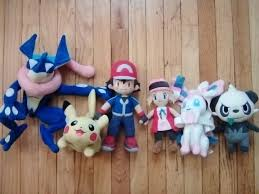My friend Jordan wanted to show off his Pokemon XYZ Plush Collection. Tell  him what you think! : pokemonanime