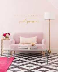 pink office decor. rachel parcell pink peonies office reveal decor pinterest