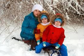Résultats de recherche d'images pour «kids in snow»