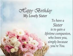 Quotes For Sister Birthday Adorable 48 Best Birthday Quotes For Sister Quotes Yard