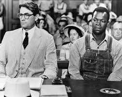 harper lee to kill a mockingbird and civil rights time actors gregory peck as atticus finch and brock peters as tom robinson in the film