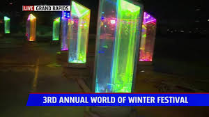 City Lights Festival Grand Rapids World Of Winter Fest In Grand Rapids Runs Through January