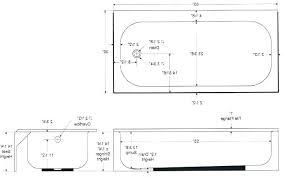 typical tub height standard bathtub size size of standard bathtub post standard size bathtub drain