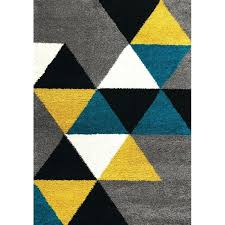 yellow and grey rug 8 x large geometric gray yellow and teal blue rug furniture