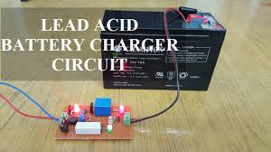 Laptop Charger Circuit Design Lead Acid Battery Charger Circuit Diagram And Its Working