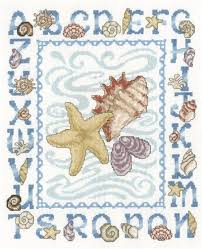 Seashell Chart Seashell Alphabet