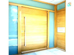 modern wooden front door doors wood contemporary entry with glass woo