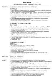 Hvac Service Technician Resume Samples Velvet Jobs