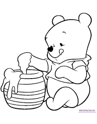 Winnie The Pooh Printable Coloring Pages 36 With Winnie The Pooh