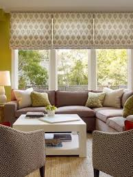 Dining Room Blinds Best Good Example Of Three Romans On A Triple Window Outside Mounted And