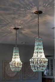 navy blue beaded chandelier designs