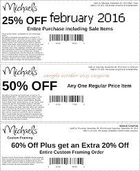 Small Picture Michaels craft store 50 off coupon Gordmans coupon code