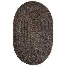 kerala gray 6 ft x 9 ft jute oval area rug kerala gray 6 ft x 9