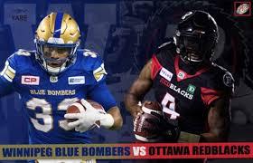 Livestream Ppv Cfl Ottawa Redblacks Winnipeg Blue