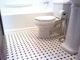 ... Bathroom Tile: Black White Bathroom Floor Tile Remodel Interior  Planning House Ideas Contemporary With Black ...
