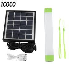 Solar Bar Light Icoco Portable Multifunctional Solar Power Smd2835 Led