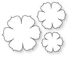 Paper Flower Printables 281 Best Paper Flower Templates Images Paper Flowers Flower