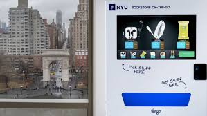 Innovative Vending Machines Magnificent Innovative College Vending Machines Will Feature A Digital Ad
