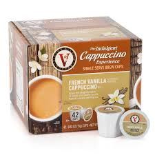 How much does the shipping cost for victor allen coffee k cups? Victor Allen S Coffee French Vanilla Cappuccino Single Serve Cups For