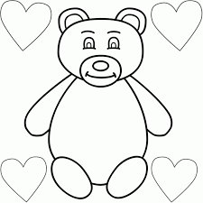 Small Picture Coloring Pages Free Printable Bear Coloring Pages For Kids