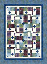 Drop Diamonds pattern from Cozy Quilt Designs featuring Tonga Zen ... & Drop Diamonds pattern from Cozy Quilt Designs featuring Tonga Zen fabrics  by Daniela Stout. Download Adamdwight.com