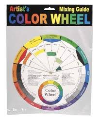 Artist Colour Mixing Chart Artist Color Wheel Mixing Guide Color Wheels Large