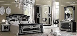 italian classic bedroom furniture. Unique Furniture Aida Black WSilver Camelgroup Italy Bedroom Furniture Classic  Intended Italian E