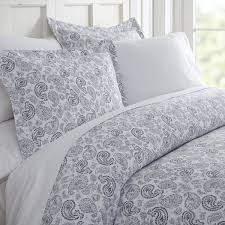 becky cameron co paisley patterned duvet cover set queen co paisley navy