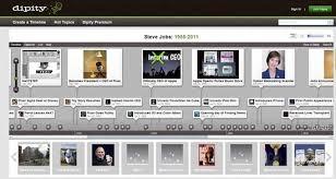 Online Timeline Creator Free Free Digital Timeline Creator Dipity Gadget Explorer