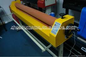 manual or electrical cold laminator laminating machine 4