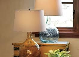 colored glass lighting. Pottery Barn Floor Lamp Abajur Se West Elm Colored Glass Table Lighting