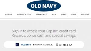 Gap Old Navy Banana Republic Credit Card Login Cardbk Co