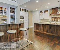 ... Riff Kitchen Cabinets In Maple Pure White With A Walnut Island In  Walnut Natural ...