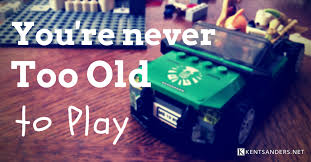 Never too old for toys