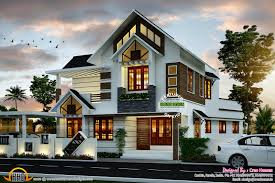 Unique Home Designs | Unique, stylish, trendy Indian house elevation -  Kerala home design ... | ODD SHAPES HOMES | Pinterest | Indian house, House  elevation ...