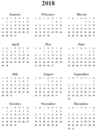 2018 calendar printable 2017 printable calendar homemade