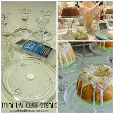 mini diy cake stands one of my favorite ways to dress up a table