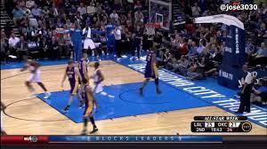 Reggie Jackson Dunk - Lakers @ Thunder ...
