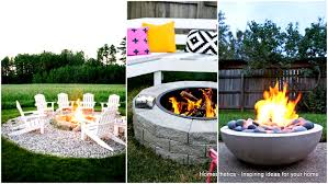 67 Brilliant DIY Fire Pit Plans \u0026 Ideas to Build for Coziness and ...