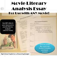 best movie guides and media for school images movie literary analysis essay for use any movie
