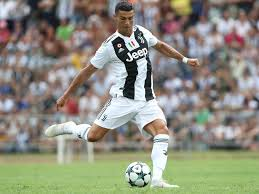 cristiano ronaldo of juventus scores the opening goal during the pre season friendly match between