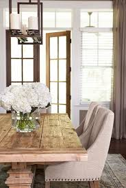 Best wood for table Pine Restoration Hardware Table Gorgeous Dining Room Chandelier French Doors Maison De Cinq Best Restoration Hardware Style Farmhouse Dining Tables For Less