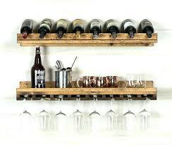 exotic wine glass wall rack rack wine glass rack hanging wood