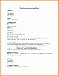 8 Heading For Cover Letter Resume Type