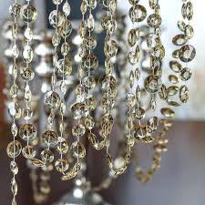 ideas crystal strands for chandeliers and here for a larger view 66 linear strand crystal