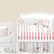 02 pastel fl baby girl crib bedding set b 16