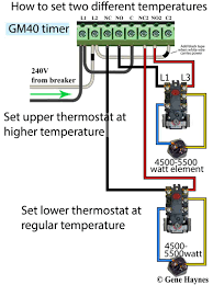 how to wire water heater for 120 volts Two Wire Thermostat Wiring Diagram Two Wire Thermostat Wiring Diagram #97 Honeywell Thermostat Wiring Diagram