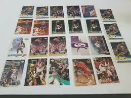 WESLEY Pearson 23 BASKETBALL CARD LOT | eBay